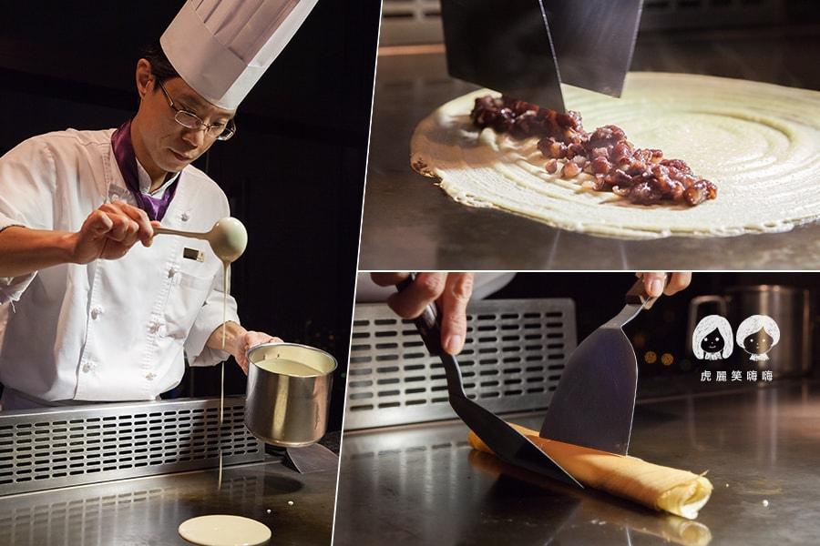 君鴻酒店38樓鐵板燒  甜點