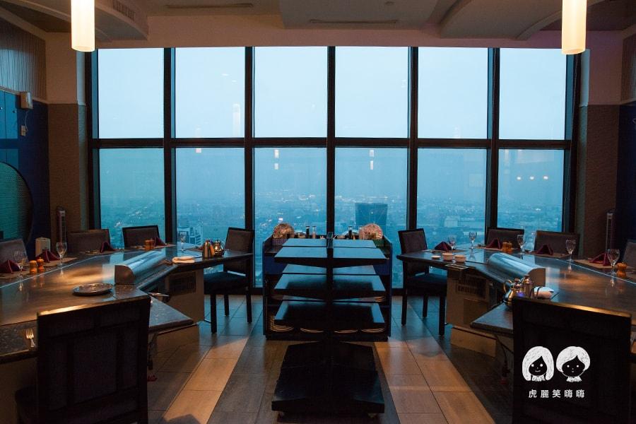 君鴻酒店38樓鐵板燒