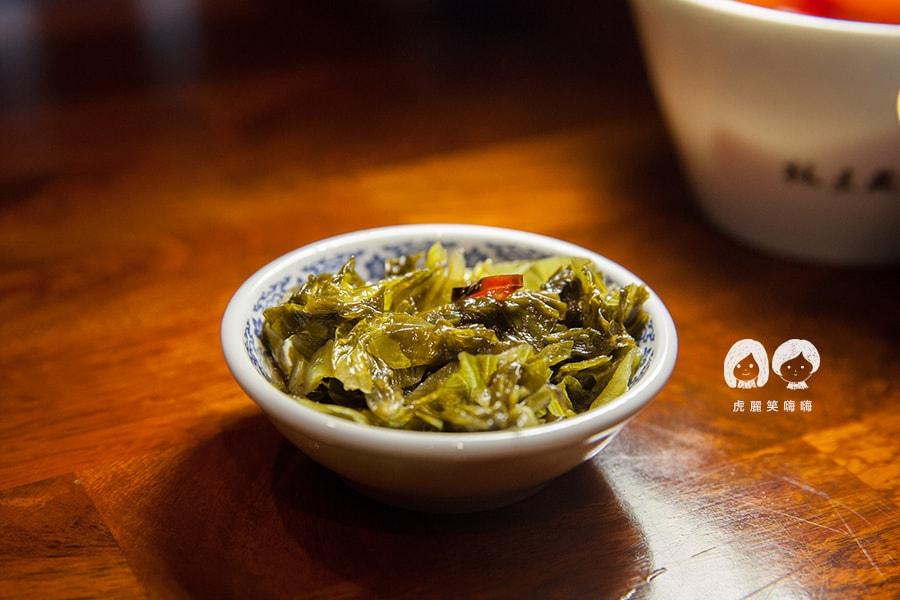 林素蘭牛肉麵 福菜