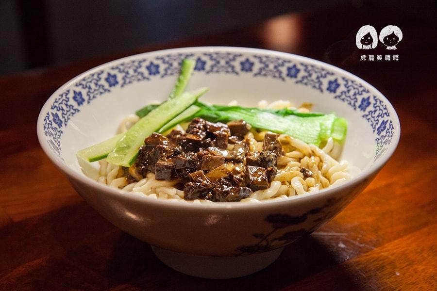 林素蘭牛肉麵 雙醬麵 NT60