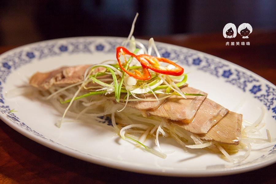 林素蘭牛肉麵 紹興豬腿肉NT40/一兩