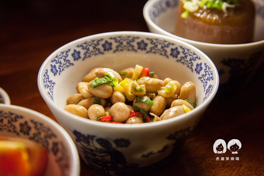 林素蘭牛肉麵 花生 土豆 涼菜 TN35
