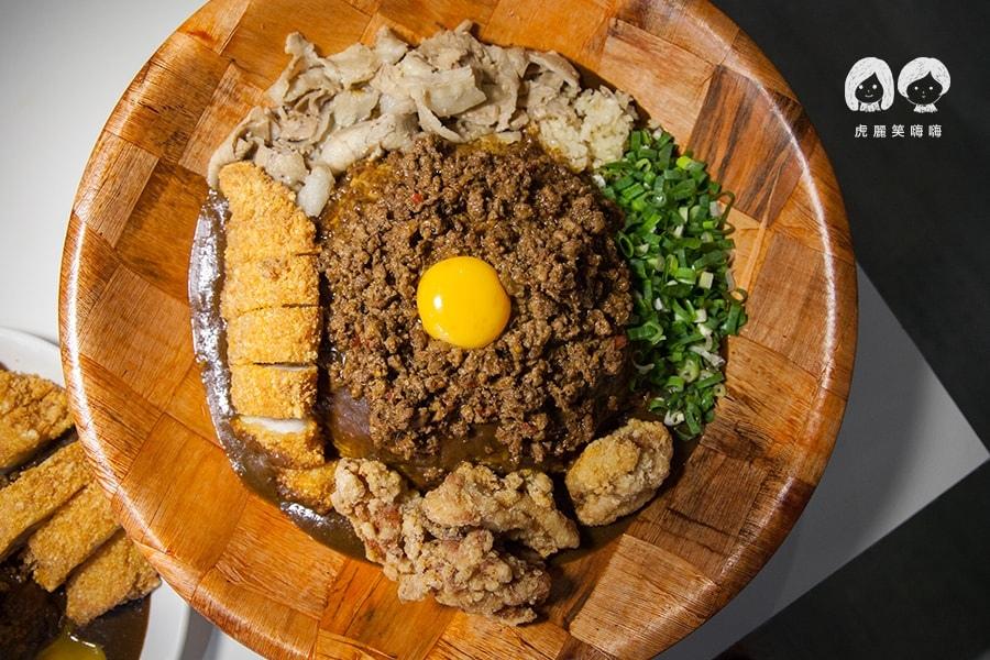 台灣咖哩 綜合台灣咖哩飯