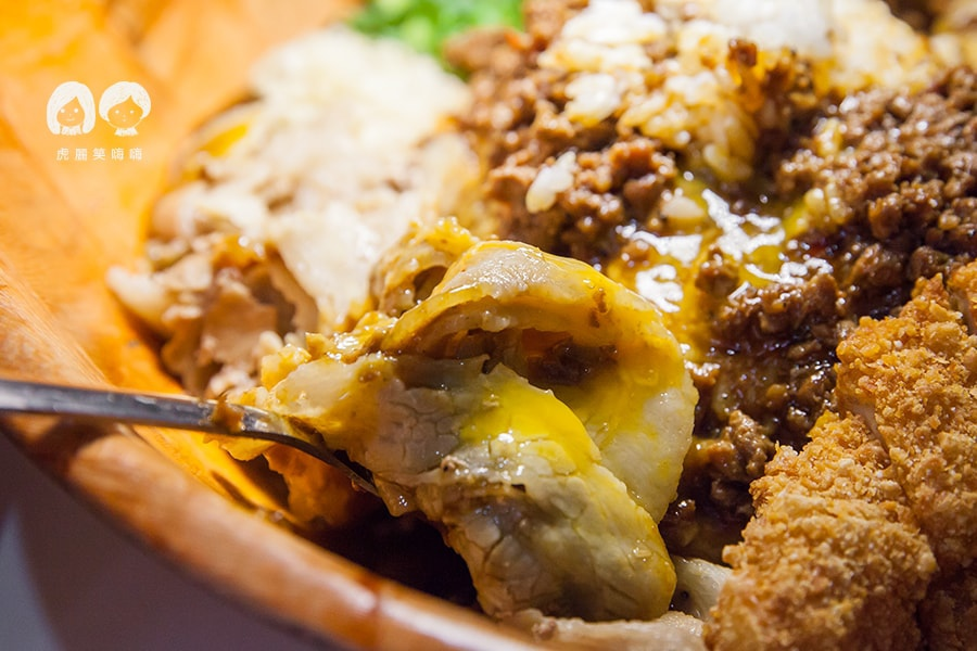 台灣咖哩 涮豬肉 綜合台灣咖哩飯