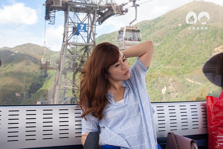 香港景點 昂坪纜車