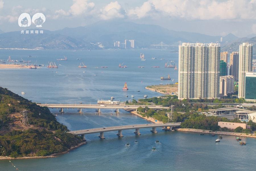 昂坪纜車 昂坪360 香港大嶼山 Ngong Ping 360. Hong Kong Lantau Island