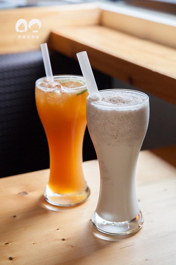 路竹 小牧人異國料理餐廳  鮮榨檸檬紅 鮮芋戀鮮奶