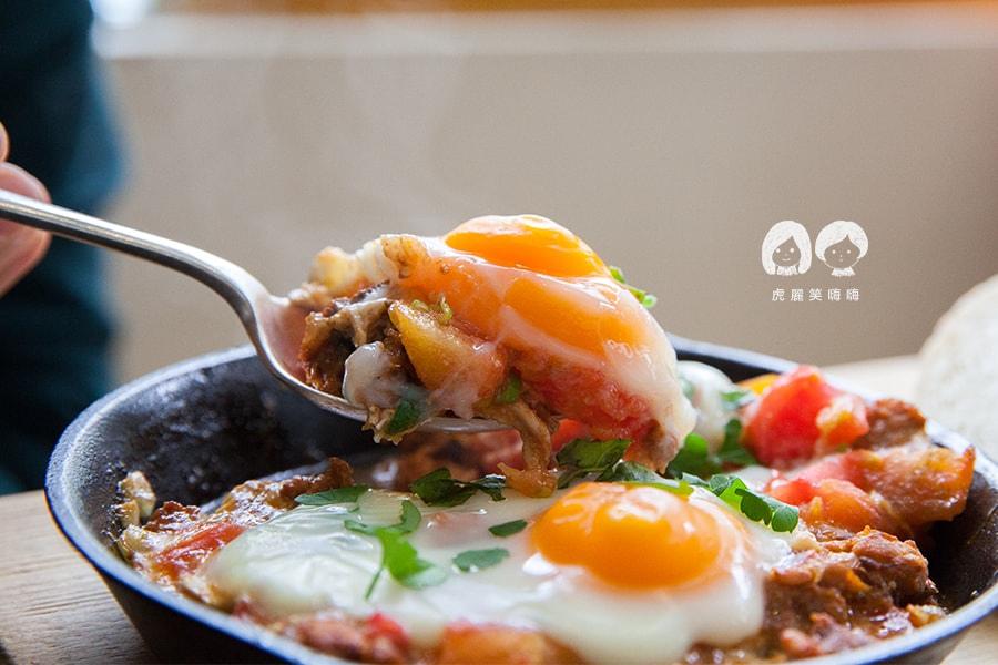 小聚 台南早午餐 半熟蛋