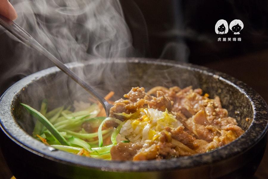 高雄 韓式料理 韓國料理 吃到飽 槿韓食堂 石鍋牛肉飯
