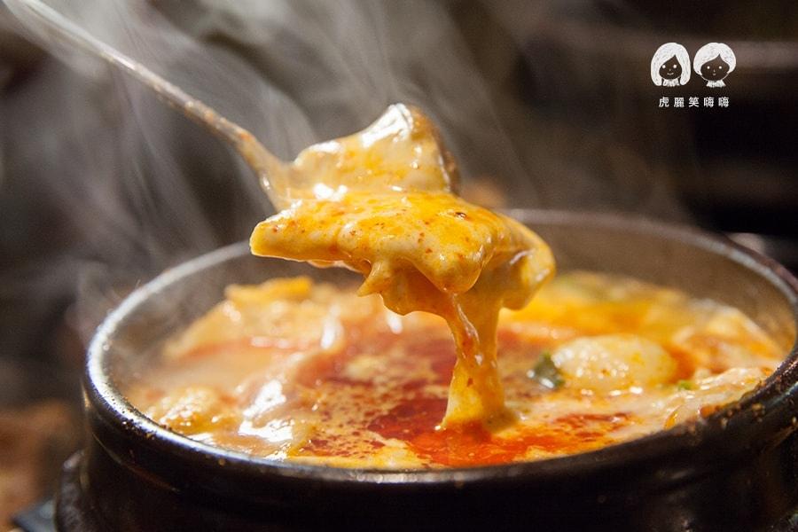高雄 韓式料理 韓國料理 吃到飽 槿韓食堂 豆腐鍋