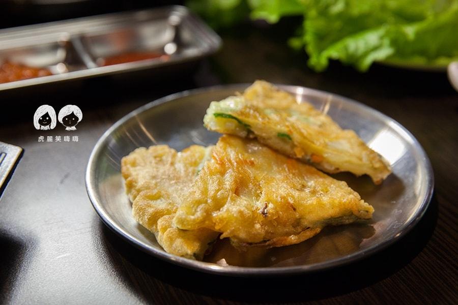 高雄 韓式料理 韓國料理 吃到飽 槿韓食堂 海鮮煎餅