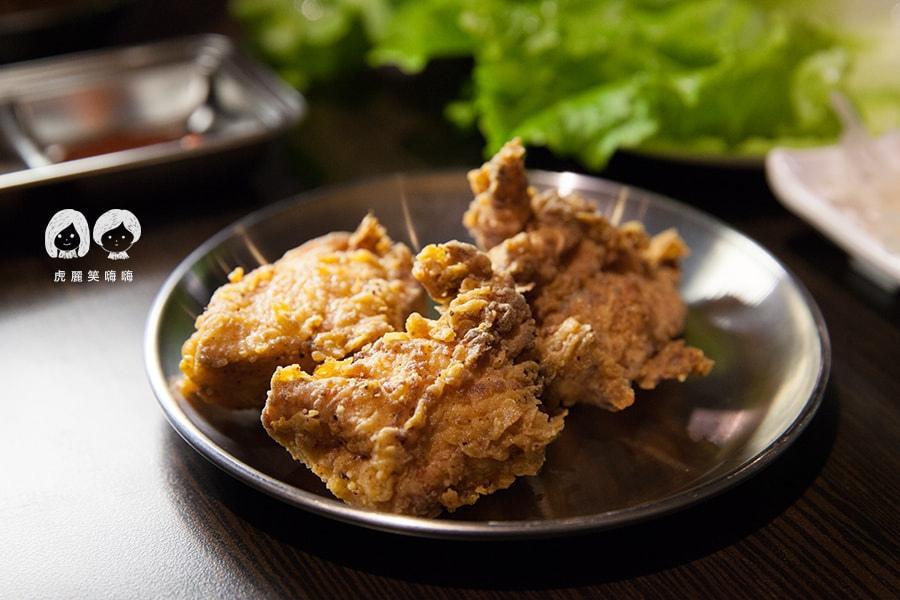 高雄 韓式料理 韓國料理 吃到飽 槿韓食堂 原味炸雞
