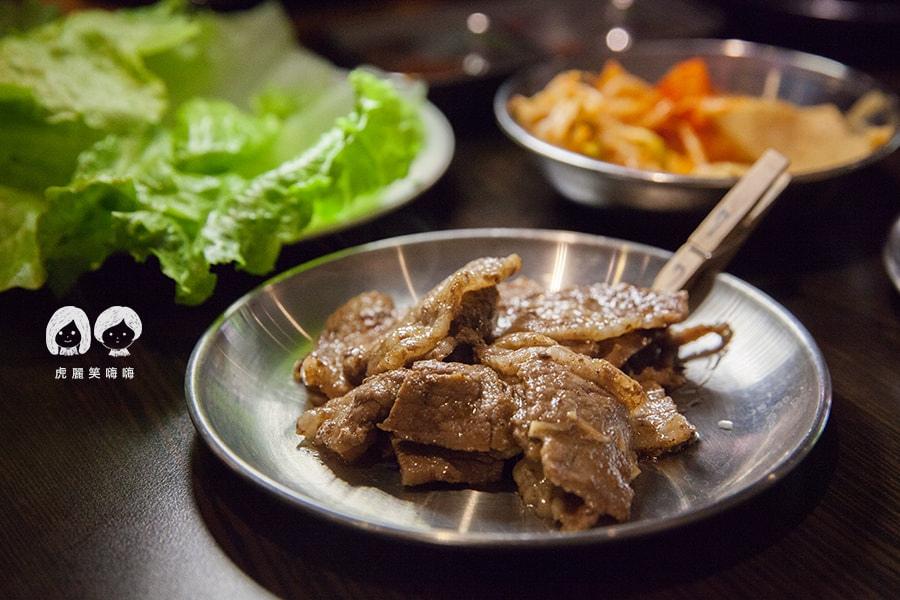 高雄 韓式料理 韓國料理 吃到飽 槿韓食堂  烤牛五花