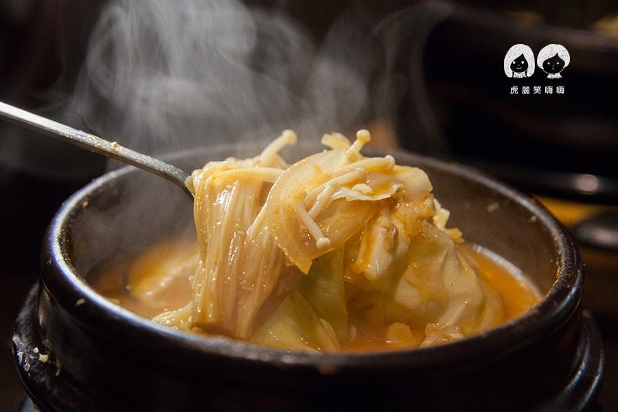 高雄 韓式料理 韓國料理 吃到飽 槿韓食堂 大醬鍋