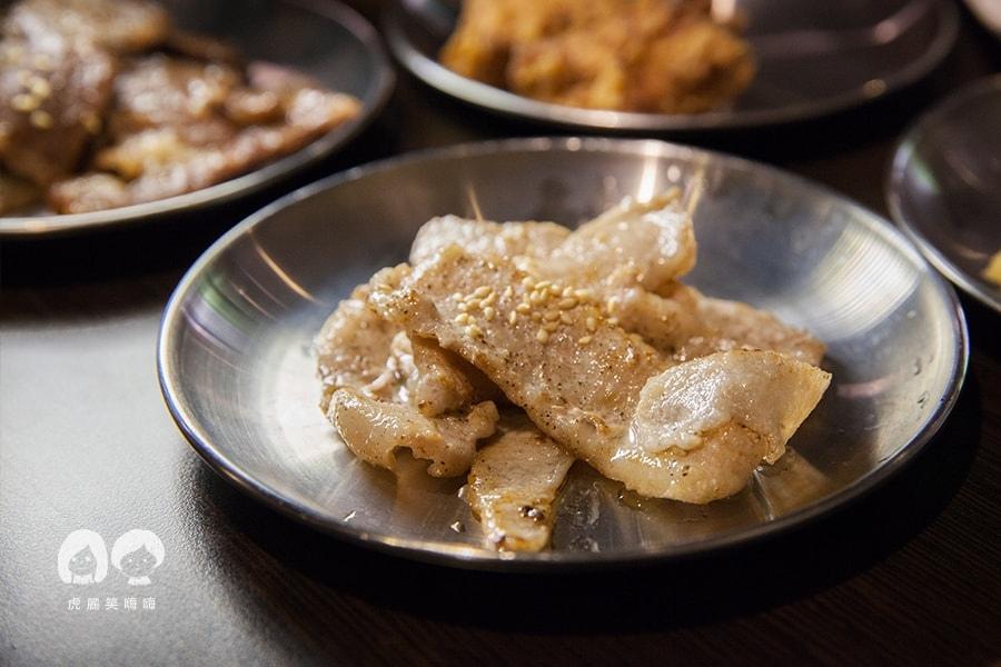 高雄 韓式料理 韓國料理 吃到飽 槿韓食堂 烤松阪豬