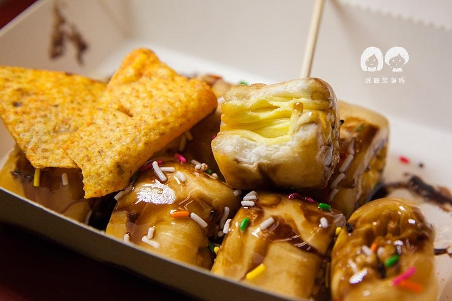 台南 鹽酥雞 雞排 食香客雞會站雞排 岩漿甜甜圈 NT49