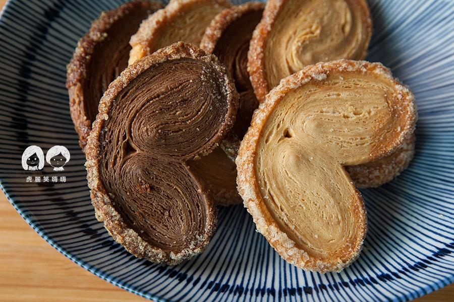 台南 蛋糕捲 蝴蝶餅 生巧克力 Roll Sweet 手作甜點 手做餅乾類 蝴蝶酥 巧克力 $180