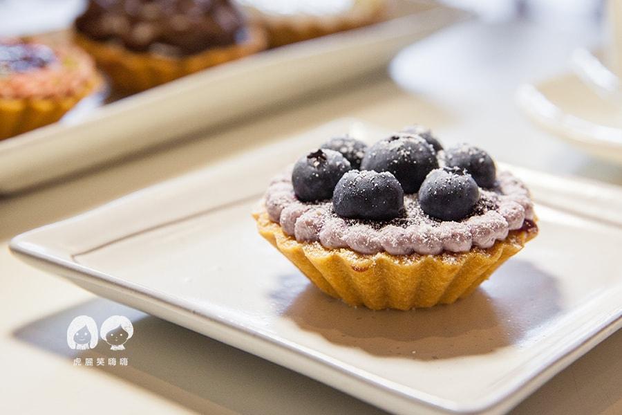 高雄 甜點 派 水果塔 小螞蟻手作烘焙坊 藍莓乳酪塔nt60