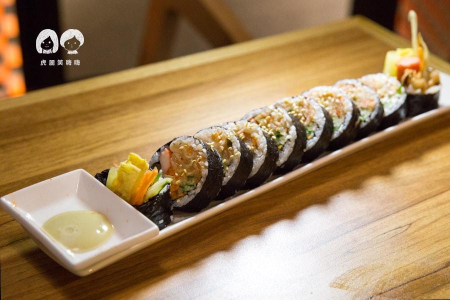 泰一格 年糕火鍋 韓式料理 漢神 巨蛋 泡菜紫菜飯包 NT148