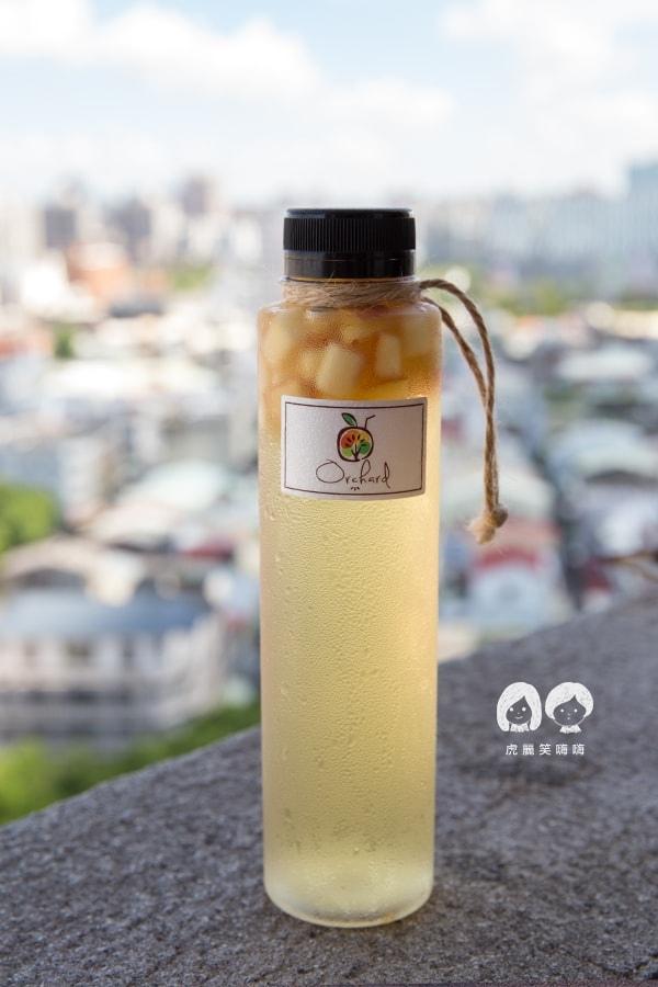 果樹園 Orchard 高雄 冷泡茶 新鮮果汁 外送  蘋果樹 NT55 蘋果丁 + 100%鮮榨蘋果汁 + 當日現泡冷泡茶