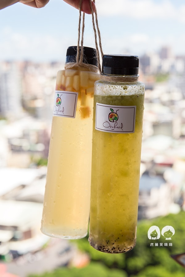 果樹園 Orchard 高雄 冷泡茶 新鮮果汁 外送