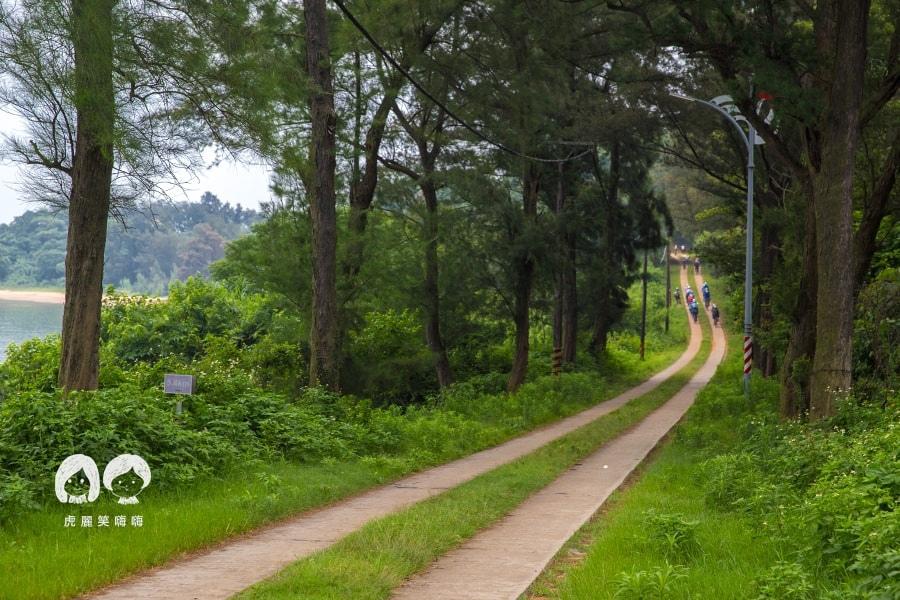 小金門 車轍道 烈嶼遊客中心 自行車行程 九宮坑道 金門旅遊 自由行 低碳 立榮 易飛網