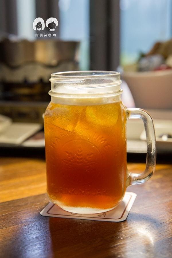 綠八角 屏東 餐廳 美食 日月潭極品紅茶NT50