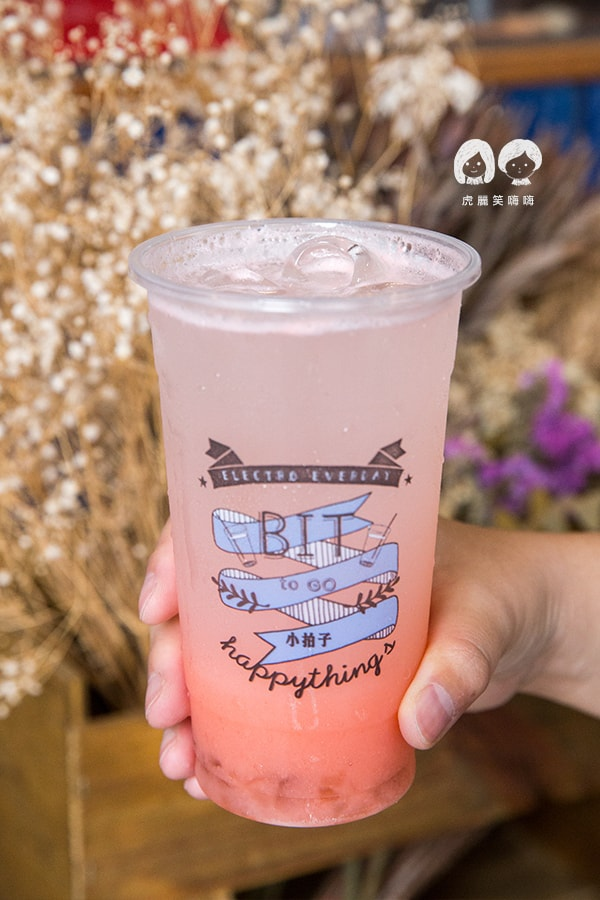 小拍子飲品製造所 氣泡飲 台南 中西區 美好年代 NT65 櫻桃 優格 綜合果凍