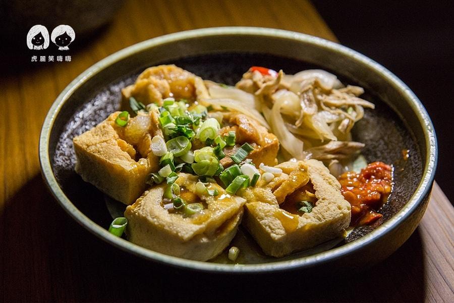 參福麵線 豆腐 鳳山 小吃  脆皮臭豆腐NT50