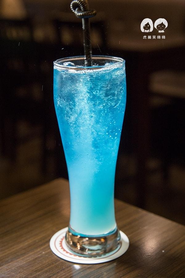 布雷克義麵坊 左營 博愛路 義大利麵   藍色.海洋蘇打 NT.70元/單點(套餐可折抵50元差價)