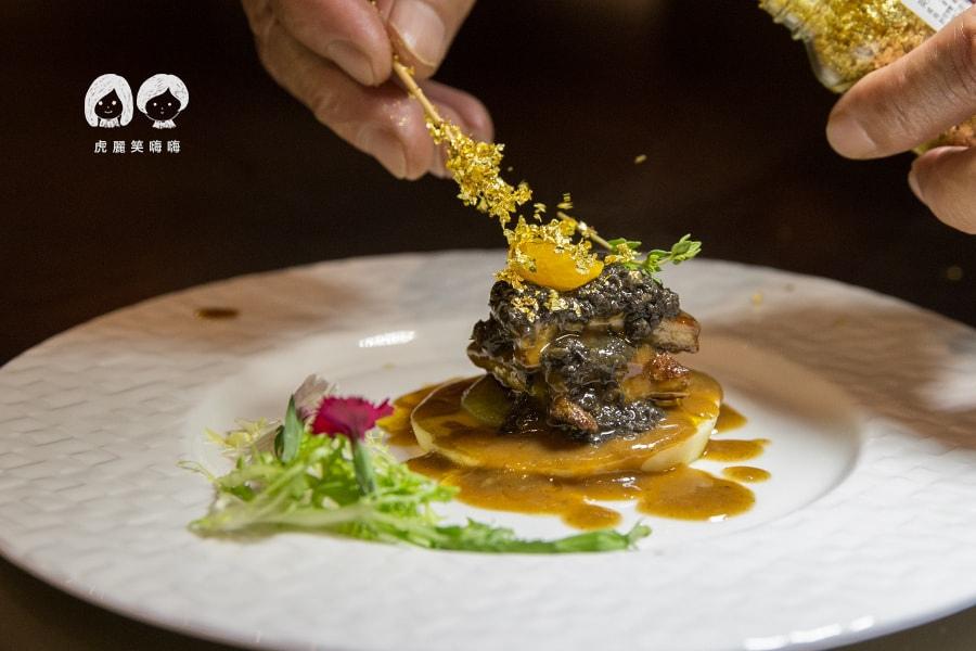 家蒂諾鐵板燒 溫莎花園 約會 聚餐 高級 法式松露鵝肝
