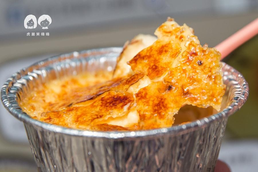 貝貝的幸福甜點 楠梓 焦糖烤布蕾 香草糖 放山雞紅仁蛋、香草籽