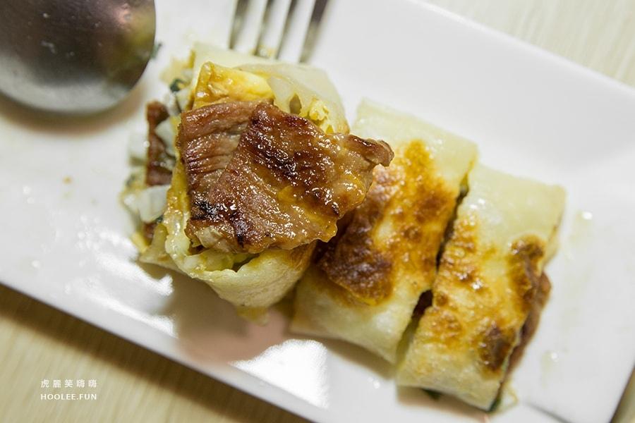 歐熊小舖 苓雅區 早午餐 特製醬燒肉蔥蛋餅 NTD50 +起司NTD10