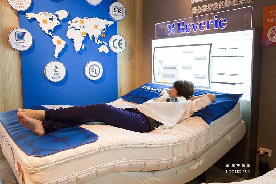 睡眠王國 高雄 寢具推薦 黃金尊寵款 美國第一幻知電動床 E+系列(含德國AGRO獨立筒彈簧床墊+電動床) 原價 WTD96000 周年慶特價 WTD66800