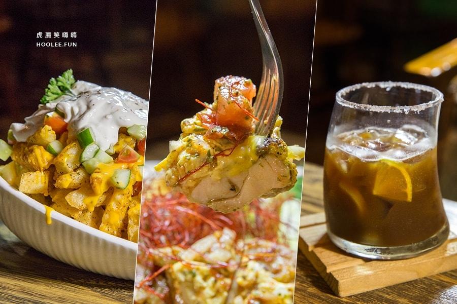 小食光 前鎮區 早午餐 輕食 爐烤起司雞腿排佐鳳梨莎莎醬 TWD249