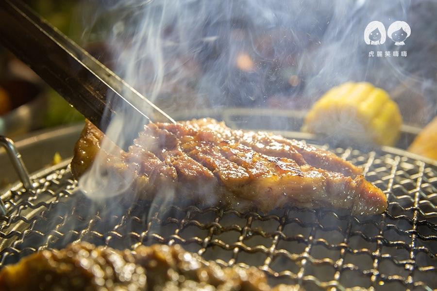 姜虎東678白丁烤肉 高雄 鳳山 韓式 調味豬排肉NTD309