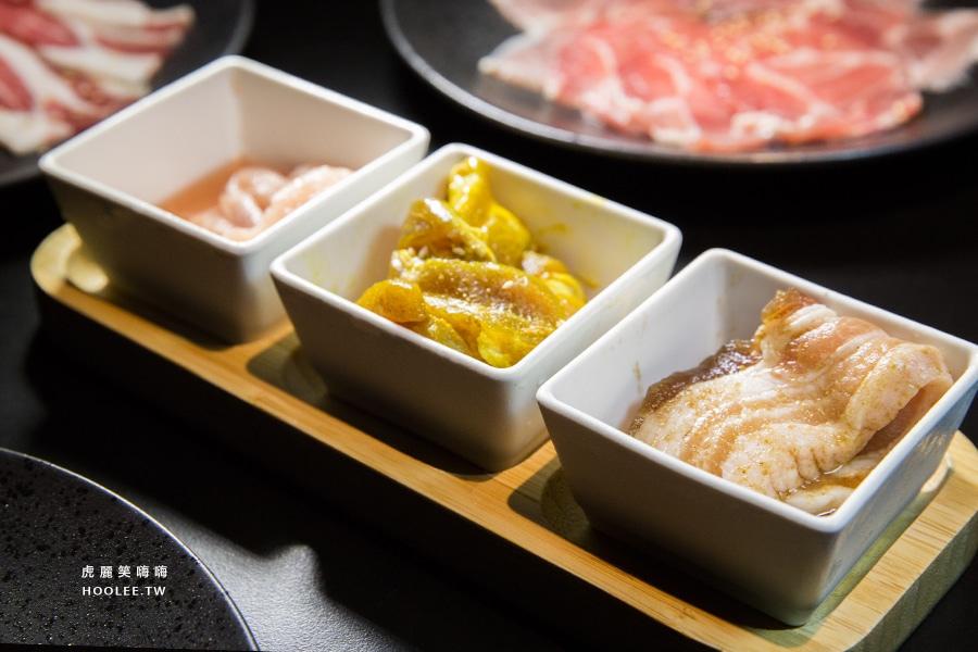 高雄吃到飽 老爺燒肉 韓式三色豬