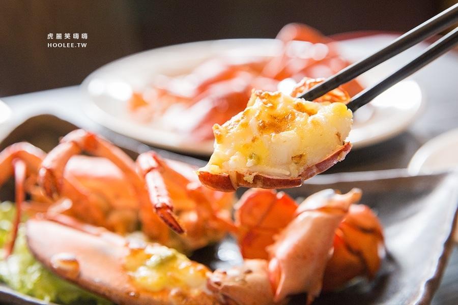 九鼎蒸霸 蒸鮮料理 鳳山 波士頓龍蝦 焗烤