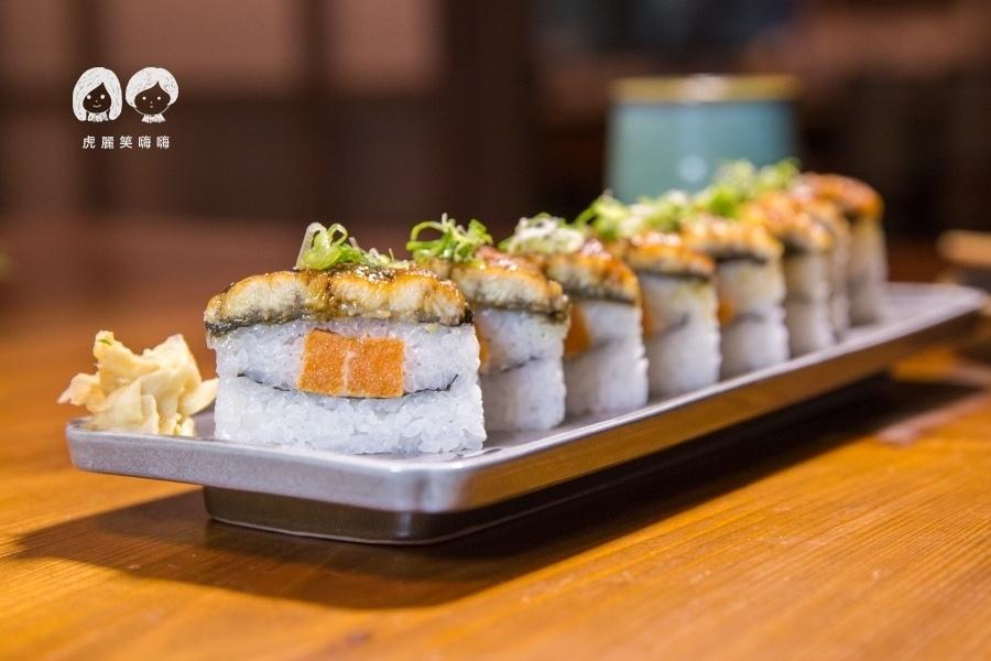 僕燒鰻 鰻魚箱壽司(一卷八切)NTD320