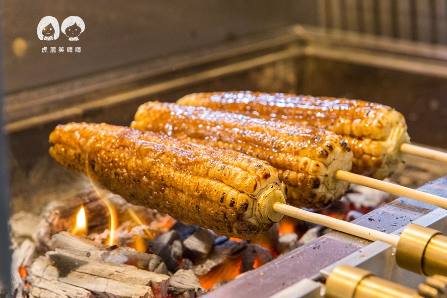 嘉義炭香烤玉米 高雄 純素