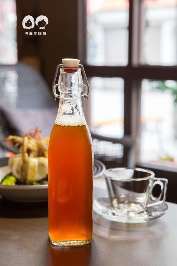 義食光 高雄義式料理 紅寶石(紅玉紅茶)冷泡每日限量 NT$140
