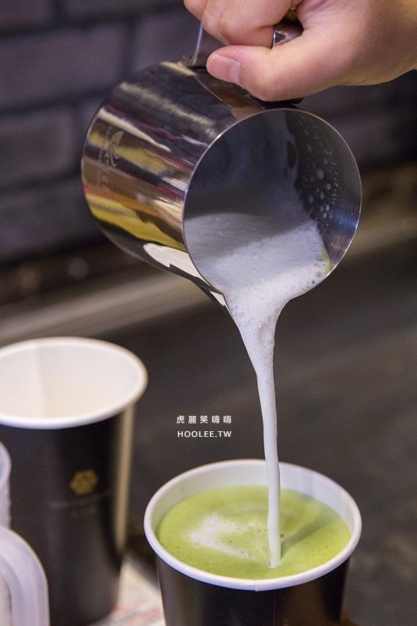 太卡啡 日式抹茶拿鐵 M NT$75 / L NT$95(H/I) 熱的