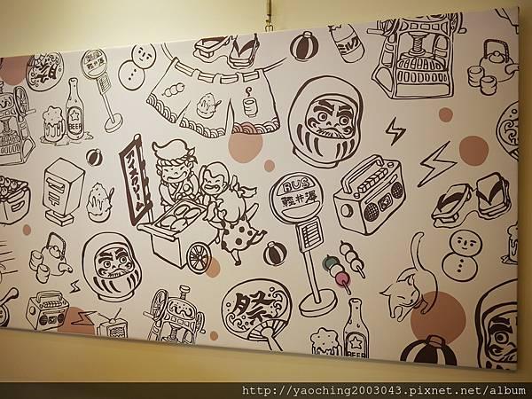 1448717025 1763332167 n - 台中南屯 波屋日式甜點店,體驗DIY烘爐烤丸子,紫米紅豆麻糬湯最適合即將到來的冬天,雪人要小心愛護別太快弄壞它