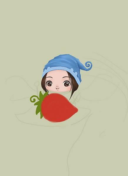 2011-08-12 小精靈19草莓.jpg