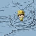 2011-04-23 乘船的小孩16手.jpg