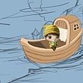2011-04-23 乘船的小孩22船身4.jpg