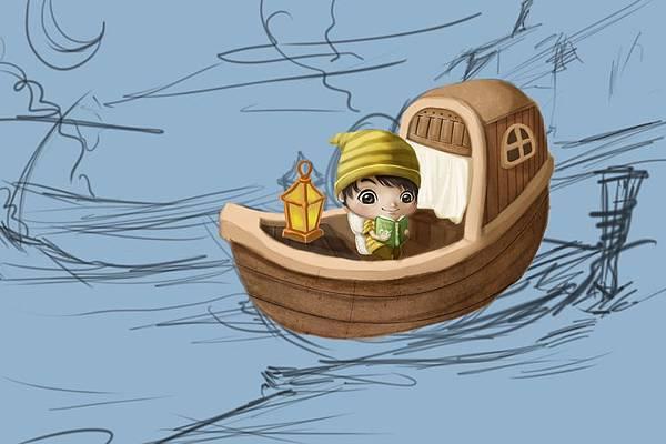 2011-04-23 乘船的小孩26船合成材質.jpg