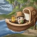 2011-04-23 乘船的小孩35船繩子.jpg