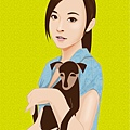 illustrator 女生5