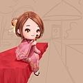 2015-12-08 賞楓日記 09 花紋 & 椅子